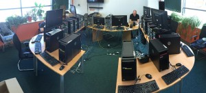 BBC General ELection PC set up